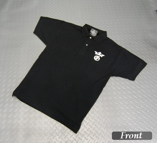 画像1: Gaboratory G&Crown Polo Shirt(Black)