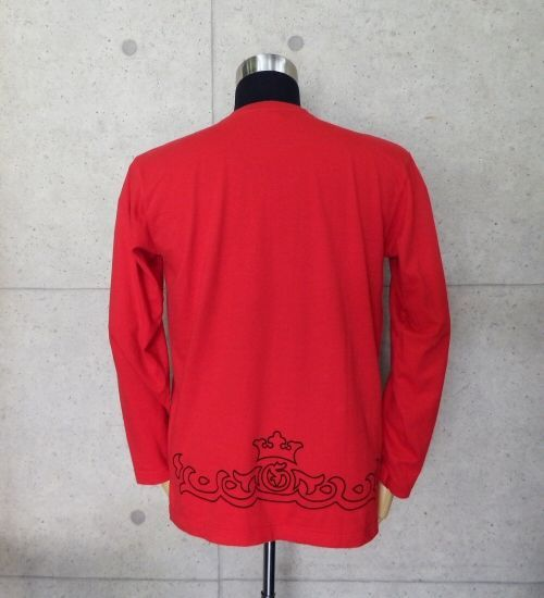画像2: Atelier tribal T-Shirt [Red]