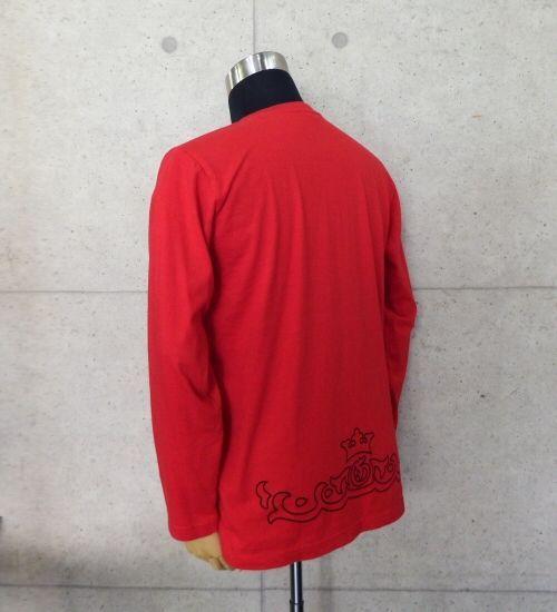 画像4: Atelier tribal T-Shirt [Red]