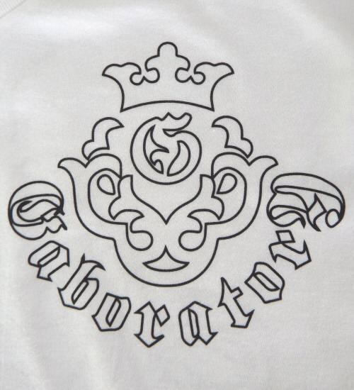 画像3: Atelier mark V-neck T-Shirt [White]