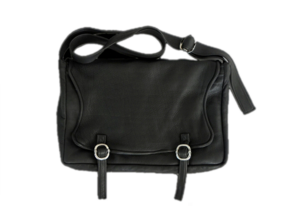 画像1: Gaboratory Soft Leather shoulder Bag [17inc]