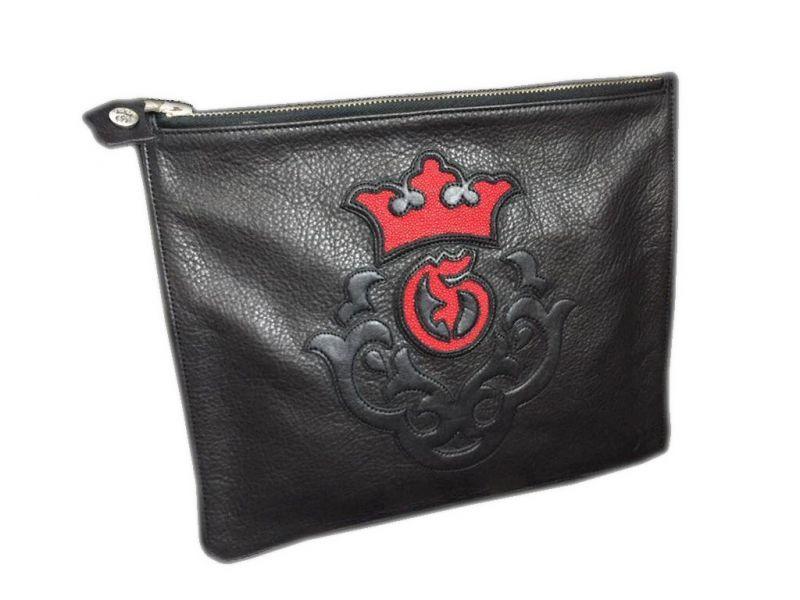 画像1: Gaboratory Clutch bag (Stingray inlay)