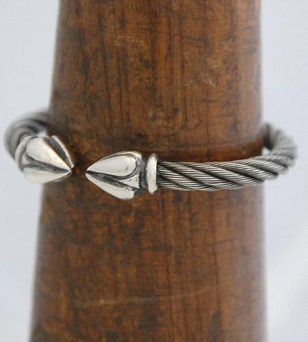 画像4: Noodle Cable Wire Bangle
