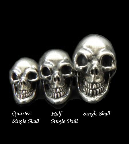 画像1: Single Skull Beads