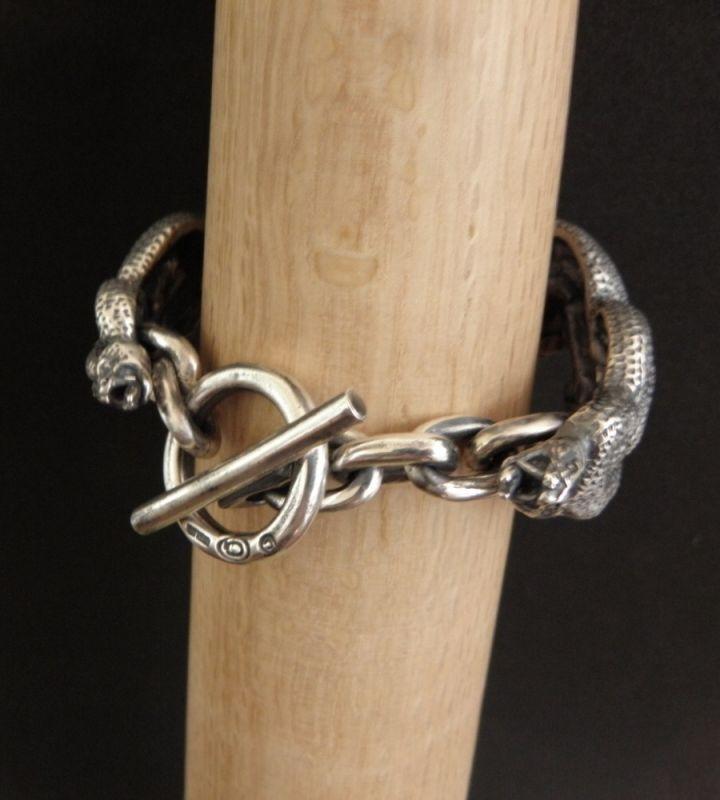 画像4: Large Buffalo Skull & Large Snake Bracelet