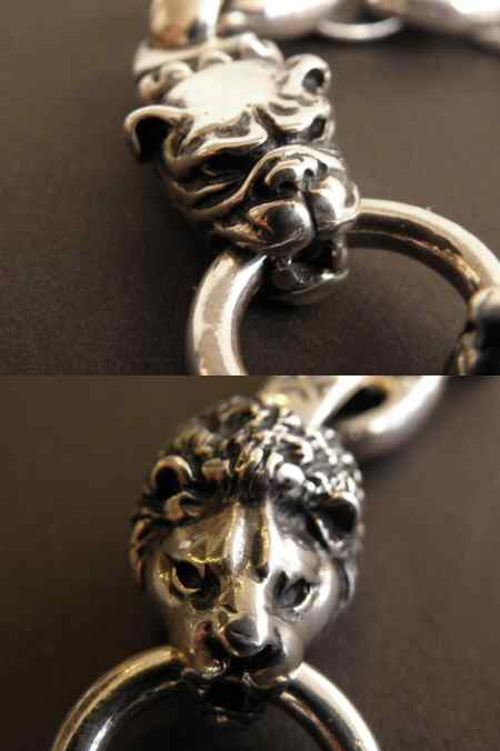 画像4: Lion & Old bulldog With H.W.O & Anchor Links Bracelet