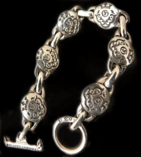 画像1: Medium atelier mark links bracelet