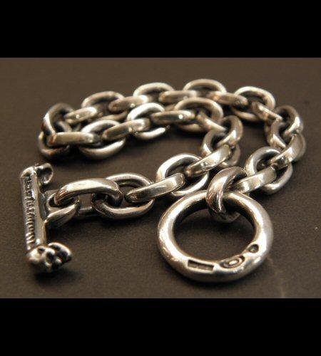 画像2: Half Small Oval Chain Bracelet