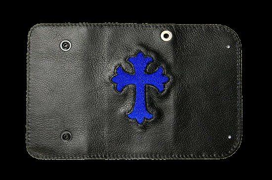 画像3: Stingray Cross Inlay Buffalo Long Wallet