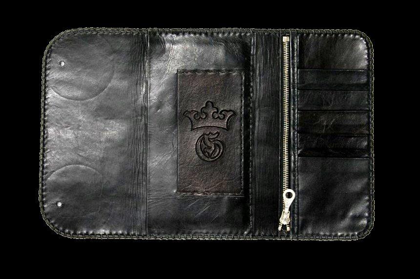 画像4: Stingray Cross Inlay Buffalo Long Wallet