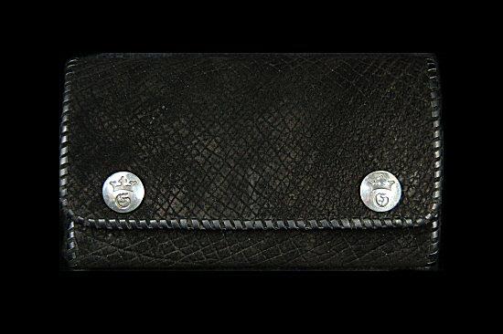 画像3: Crocoddile Cross Inlay Hippo Long Wallet