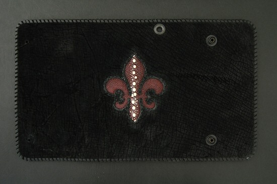 画像3: Stingray(Multi) Fleur de lis Inlay Hippo Long Wallet