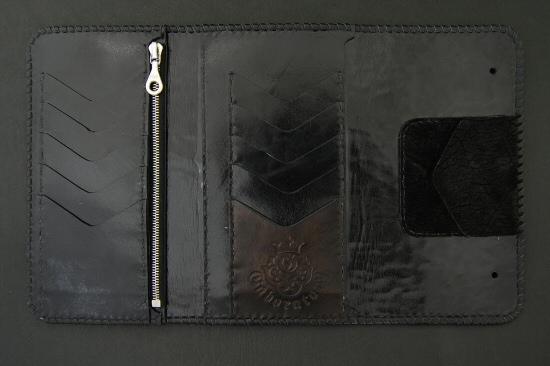 画像4: Stingray(Star) Cross Inlay Hippo Long Wallet