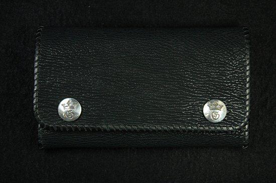 画像3: Frog G&Crown Inlay Shark Long Wallet