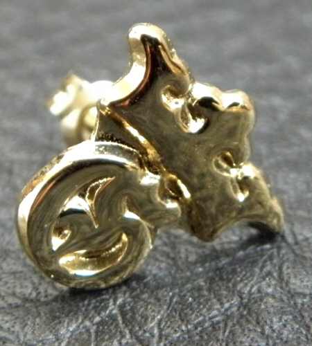 画像2: 18k Gold G&Crown Pierce