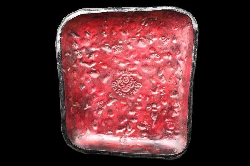 画像1: Gaboratory Textured Leather Gun Tray  [Red]
