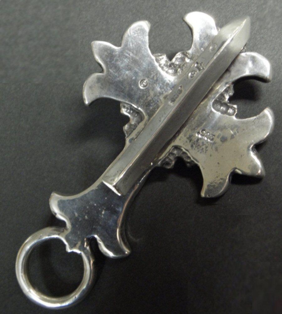画像2: Skull On Limited Plain Cross Key Keepers