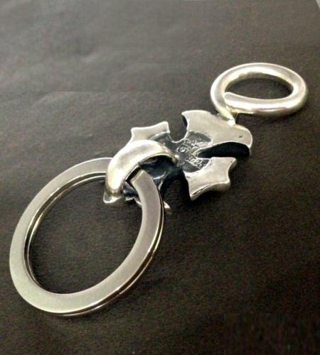 画像2: Gothic Cross Loop Hook Key Keeper
