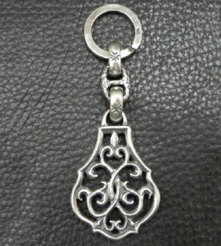 画像4: Half Size Arabesque With H.W.O Maltese Cross H.W.O, Chiseled Anchor Chain & Key Ring