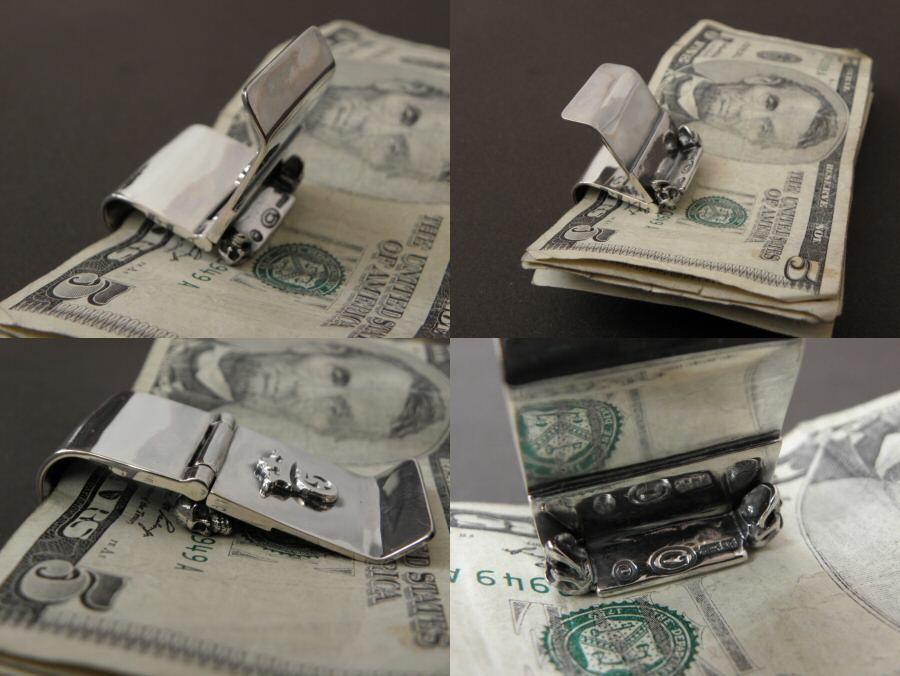 画像5: Giant Skull Money Clip Butterfly