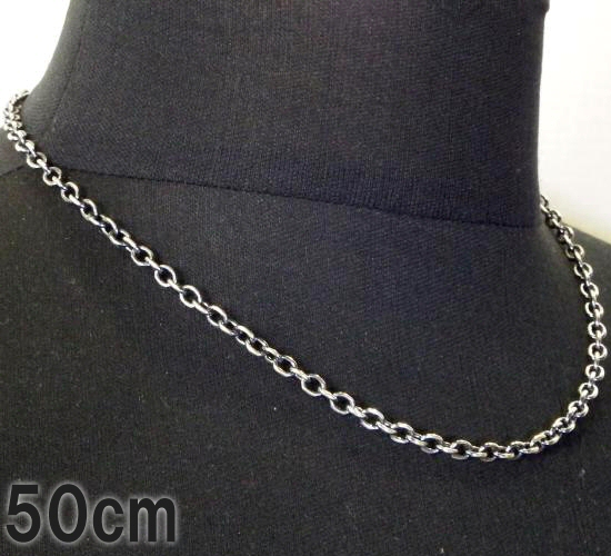 画像1: 6Chain & Quarter T-bar Necklace
