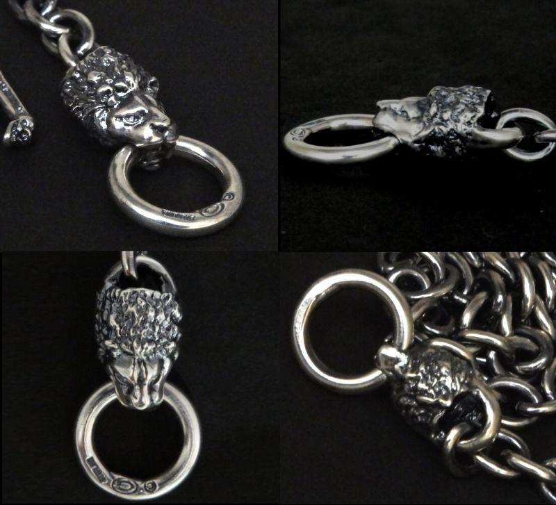 画像5: 7Chain with quarter lion & quarter T-bar necklace
