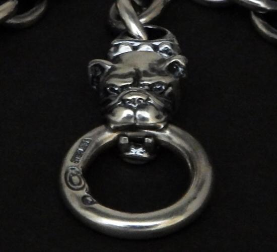 画像4: 7Chain with quarter old bulldog & quarter T-bar necklace