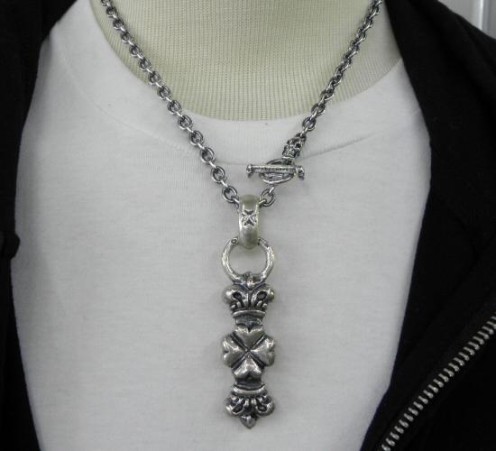 画像4: 6Chain with 1/8 Skull & 1/8 T-bar Necklace