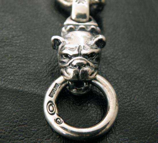 画像2: Half old bulldog with O-ring & 7chain necklace