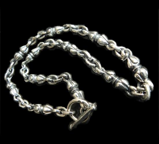 画像1: All Quarter Noodles Necklace