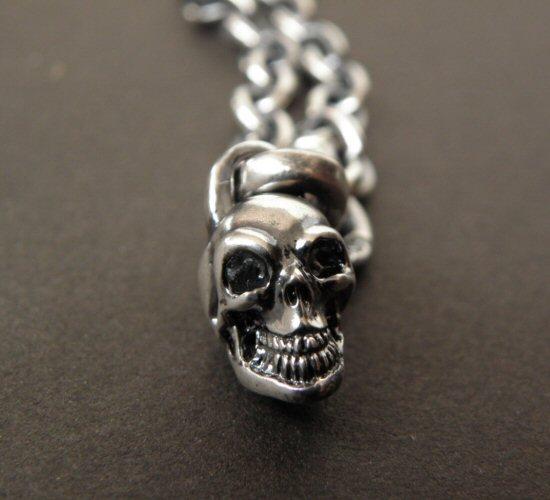 画像2: Quarter Skull & 6Chain Necklace