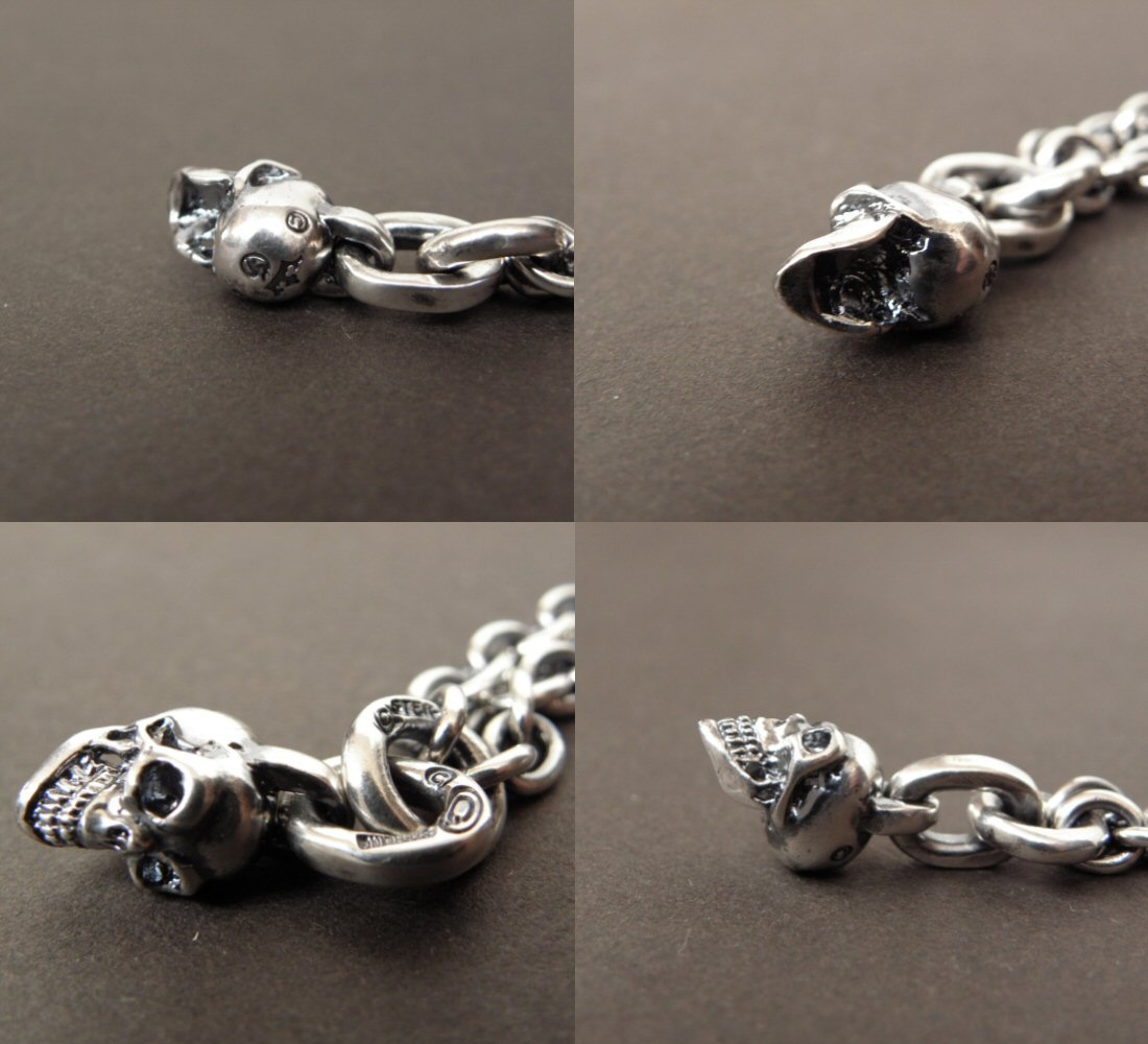 画像4: Quarter Skull & 6Chain Necklace