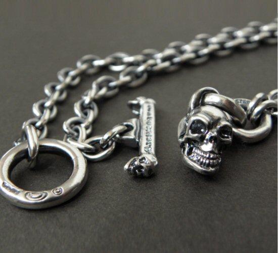 画像3: Quarter Skull & 6Chain Necklace