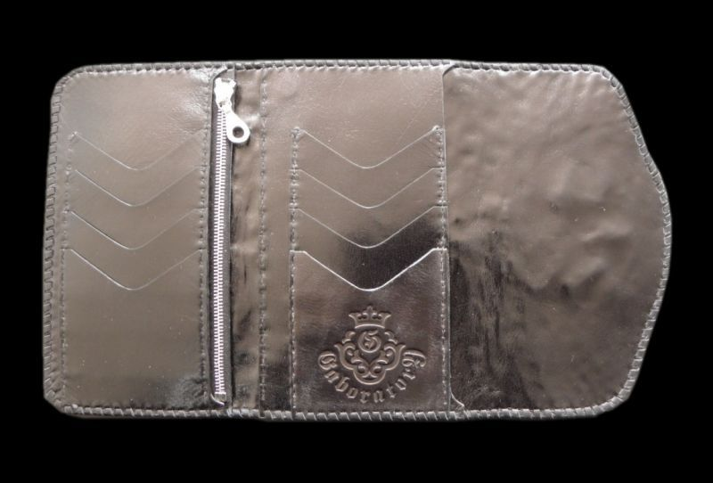 画像2: Crocodile Head Long Wallet