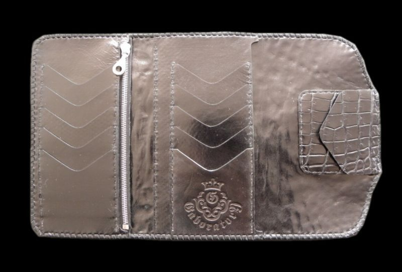 画像2: Crocodile Head Long Wallet