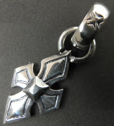 画像2: Rhombus Cross With H.W.O Pendant