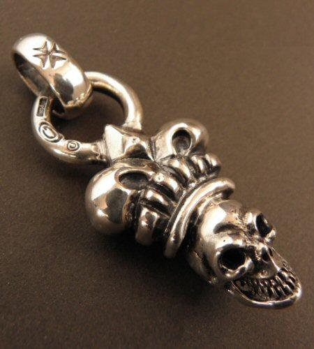 画像4: Skull Large Crown With H.W.O Pendant
