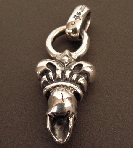画像2: Skull Large Crown With H.W.O Pendant