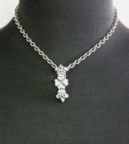 画像5: Quarter 4 Heart Crown Pendant [Hanging type]