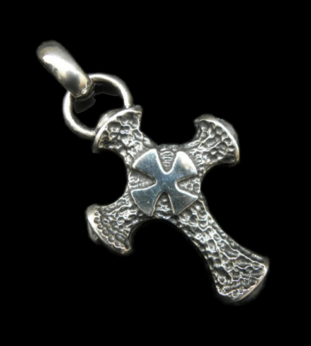 画像1: Half Hammer Cross With H.W.O Pendant