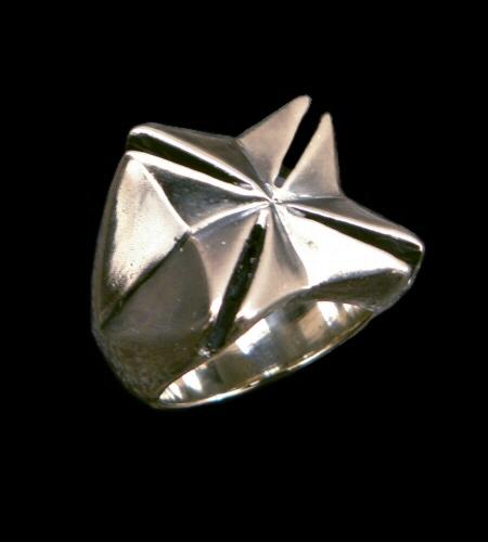 画像1: Maltese Cross Ring