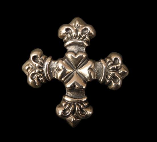 画像1: 4Heart crown cross Pins