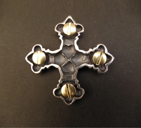 画像2: 4Heart crown cross Pins