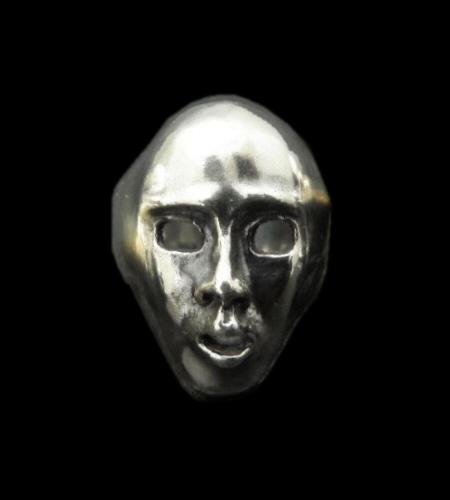 画像1: Half Face Ring