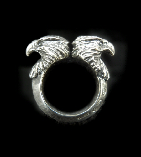 画像1: Quarter Eagle With Half Triangle Wire Ring