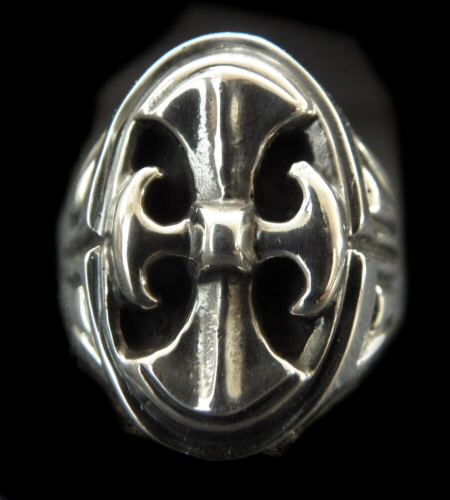 画像1: Battle-Ax Large Signet Ring