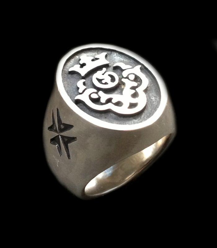 画像1: Atelier Mark Signet Ring
