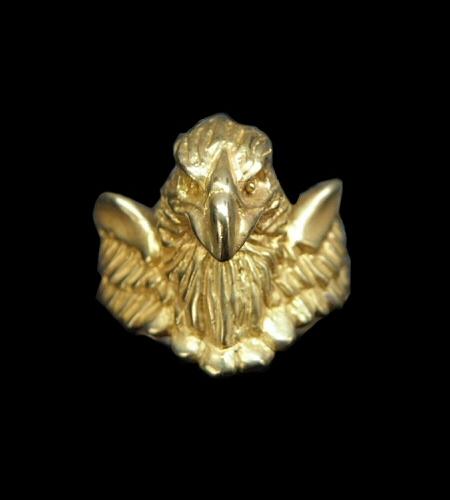 画像1: Gold Half Eagle With Wing Ring