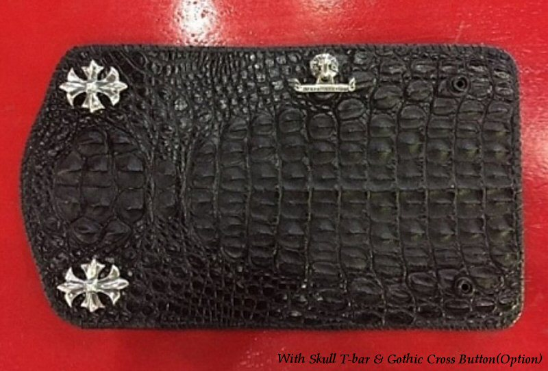 画像3: Crocodile Head Long Wallet