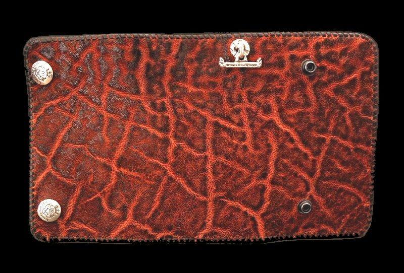 画像1: Elephant Long Wallet (Bark Vintage)